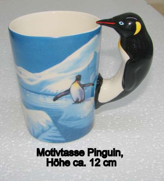 Motivtasse Pinguin