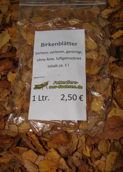 Birkenblätter ca 1 l