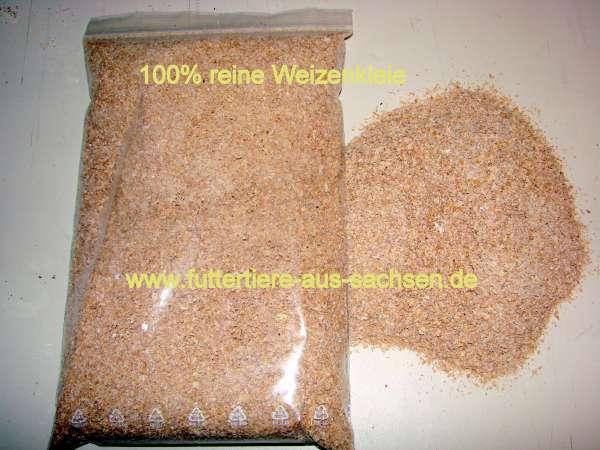 Weizenkleie, 1 Liter