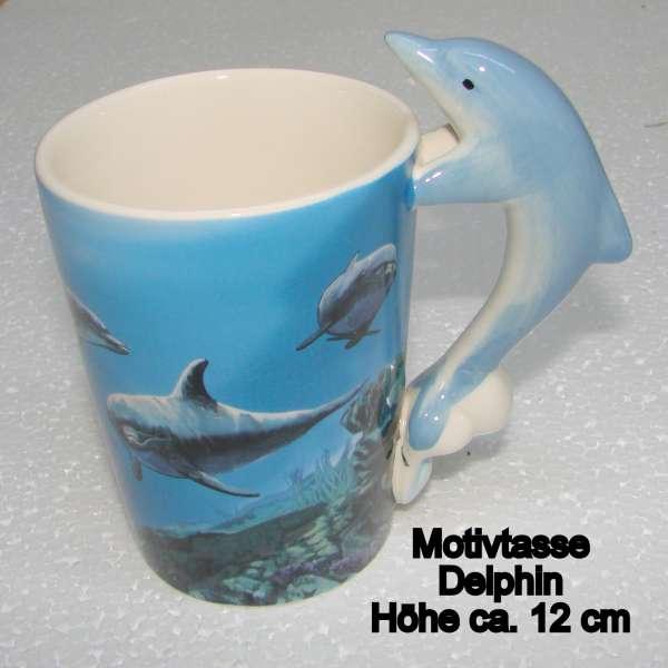 Motivtasse Delphin